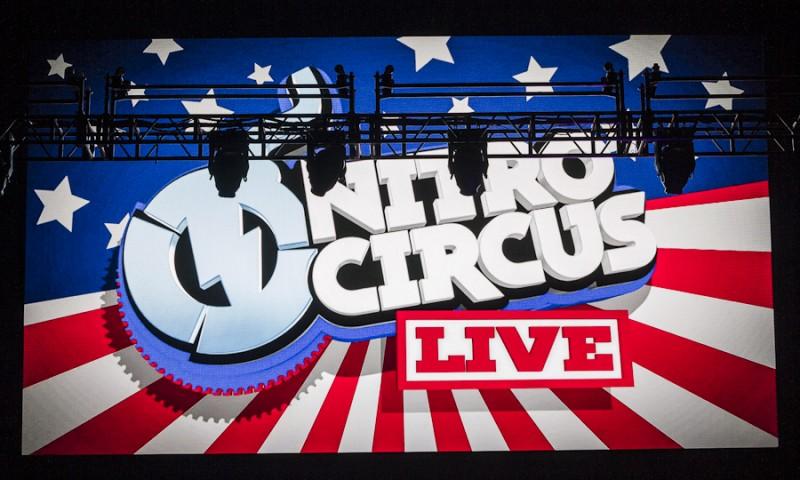 Welcome to Nitro Circus Live at Vivint Smart Home Arena. Photo: Jake Vivori