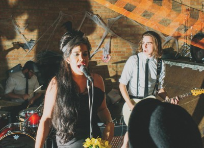 Lauren Hoyt was great as Amy Winehouse (Show Me Island). Photo: Tyson Call @clancycoop