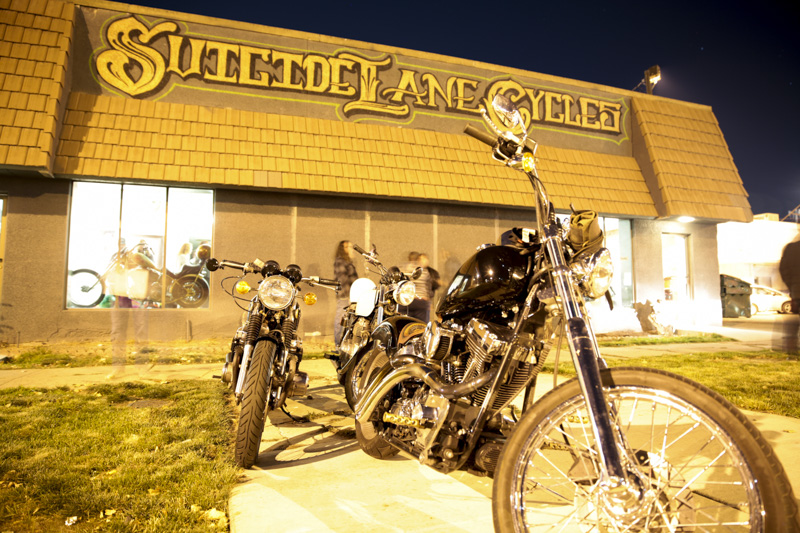 Suicide Lane Cycles One-Year Anniversary Party
