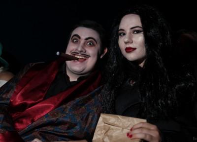 Undead, undead, undead. Vampiric style ruled the night at Rocky Horror. Photo: John Barkiple