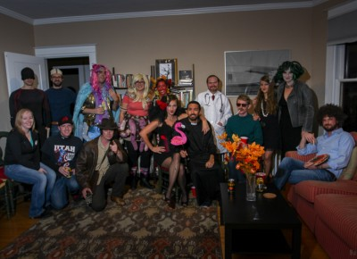 This 1st Avenue party had several cerebral costumes and delicious snacks. Photo: John Barkiple