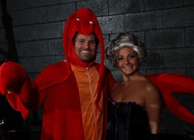 Metro Bar guests dressed to impress at this Sketch Cabaret Halloween party at Metro Bar. Photo: John Barkiple