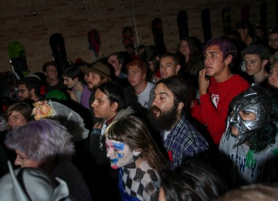 The Super Top Secret party included crowd-pleasing, live performances. Photo: John Barkiple
