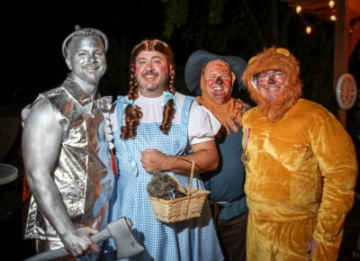 "Dorothy and friends won the ""best group"" award. Photo: John Barkiple"