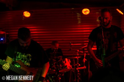 Intronaut performed songs off their newest album, which dropped the same night as the show. Copyright Megan Kennedy // abuseofreason.com