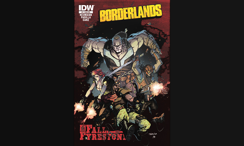 Review: Borderlands Vol. 2 – The Fall of Fyrestone