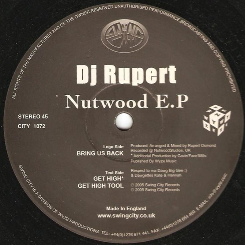 Review: DJ Rupert – Nutwood EP