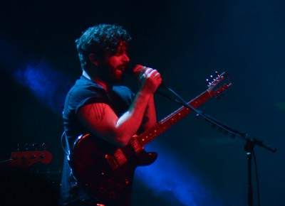 Yannis Philippakis of Foals. Photo: Andy Fitzgerrell