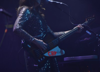 Nikki Monninger of Silversun Pickups. Photo: Andy Fitzgerrell