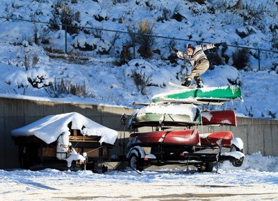 Keegan Valiaka – Frontside Boardslide – SLC, Utah Photo: Bob Plumb