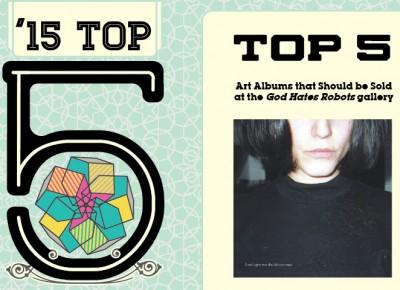 Top 5 Art Albums
