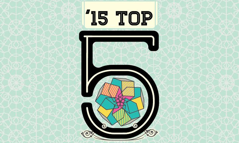 '15 Top 5 Albums
