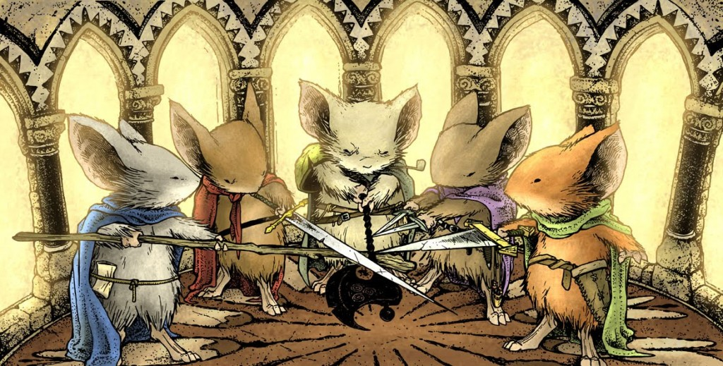 Review: Mouse Guard – Legends of The Guard Volume 3