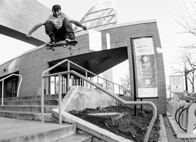SLUG Skate Photo Feature – Forrest Huber – Photo: Weston Colton