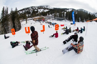 Riders await the word on who will be called to go first. Photo: Niels Jensen