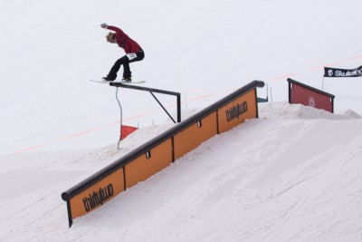 Royal Reed, 17 & Under Men's Snowboard. Lipside. Photo: Chris Kiernan