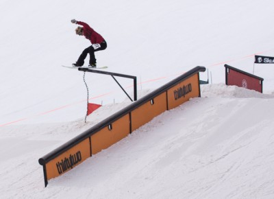 Royal Reed, 17 & Under Men's Snowboard. Lipside. Photo: Chris Kiernan
