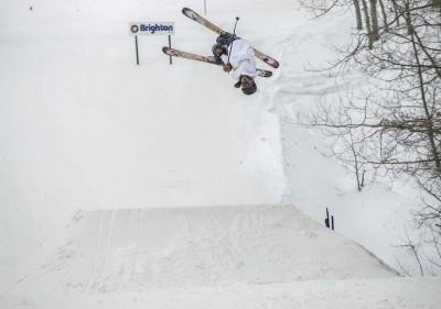 Jake Lewis, Open Men's Ski, rodeo. Photo: Cezaryna Dzawala