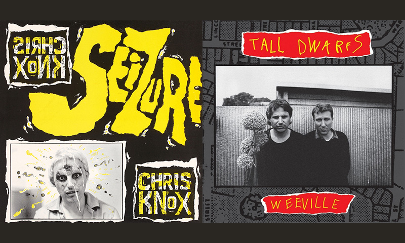 Review: Chris Knox / Tall Dwarfs – Seizure / Weeville (Vinyl Reissue)
