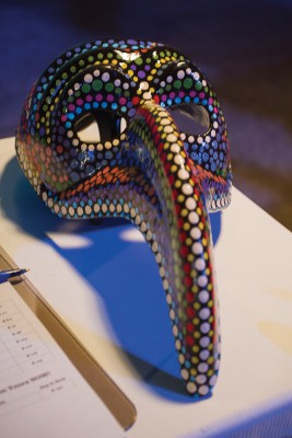 Enjoy masked creations while wearing a mask of your own at the Utah Arts Festival's annual Masquerade Party.