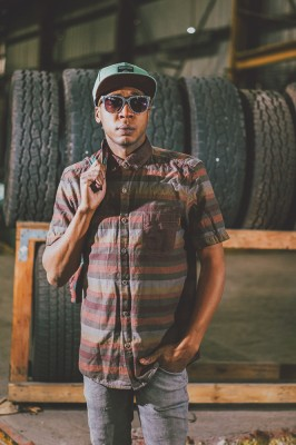 """""""There is a wide variety of different songs I've produced,"""" says Onza Winston. """"Sometimes it is electronic, sometimes it is more hip hop, sometimes it is more R&B or trip hop. I feel like, over the years, all the music I have made is a piece of experiences I have had. Rather than hearing the music, I want people to envision what that word means along with that music. I want you to focus in on it."""" Photo: @clancycoop"""