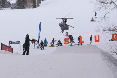 Nate McCartney, 17 & Under Men's Ski 1st Place, cork 540.