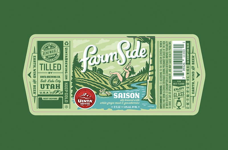 Beer of the Month: Uinta Farmside Saison