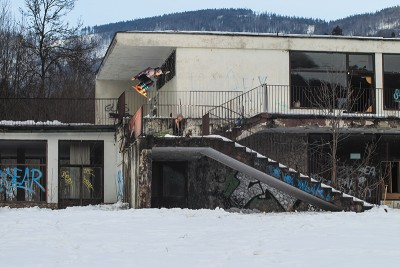 Lizard King – Backside 180 – Szczyrk, Poland.
