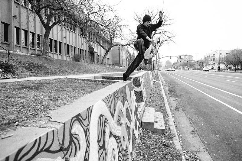 SLUG Skate Photo Feature: Miles Vigil