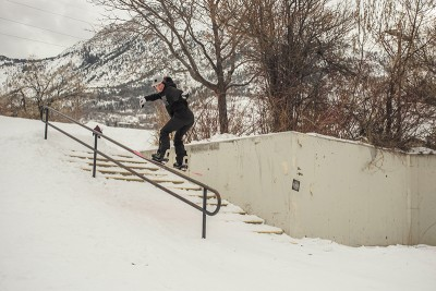 Madison Blackley is a shredder from the crew Too Hard.