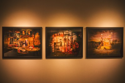 """Three unique pieces of art from David Brothers' """"Rolithica"""" gallery make me question every part of my own process as a photographer. Photo: talynsherer.com"""