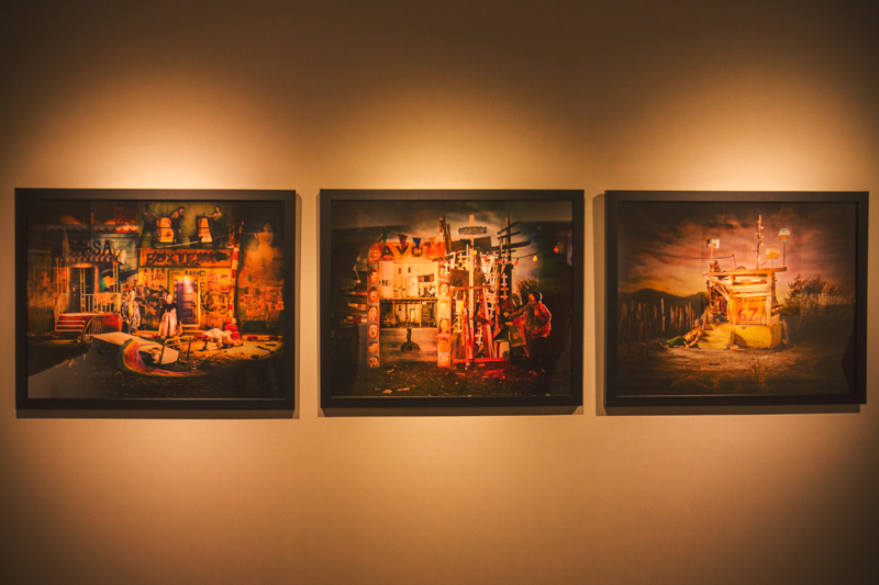 "Three unique pieces of art from David Brothers' ""Rolithica"" gallery make me question every part of my own process as a photographer. Photo: talynsherer.com"