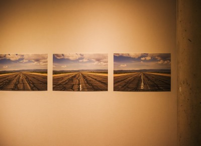 "An endless display of roads less traveled gets featured by artist Paul Crow in his ""Here"" series. Photo: talynsherer.com"