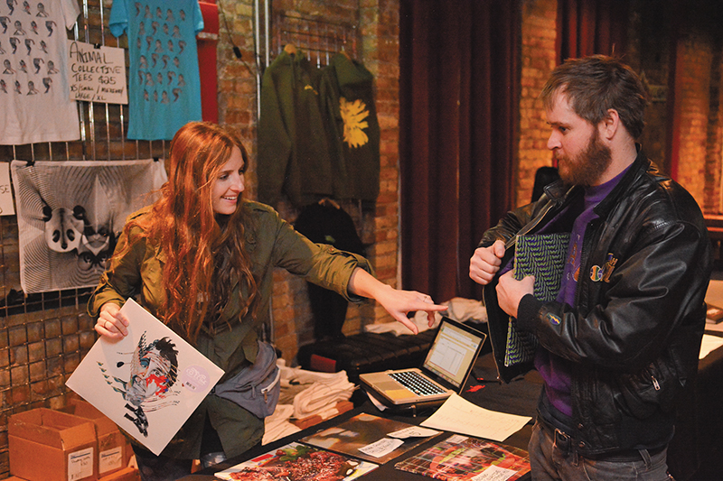 Mike Brown: Adventures in Merch Peddling!