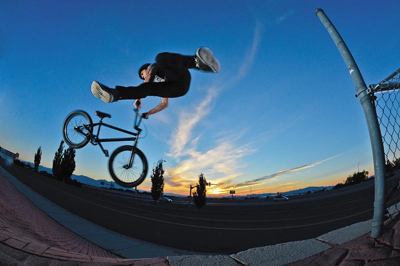 SLUG BMX photo Feature: Garrett Holm