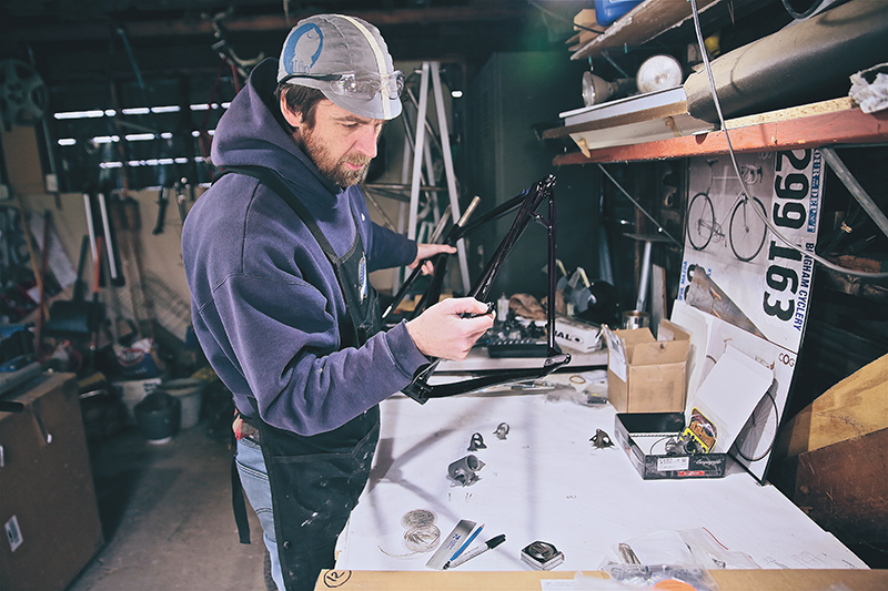 Not Another Cog: An Interview with Matt Nelson of Saltair Cycles