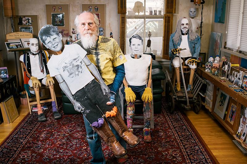 Jim Williams' Smiling Faces: Exploring The Idea of Home As Self-Portrait