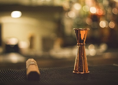 A bartender's tools are not to be messed with, no matter how shiny and tempting it may be. Photo: Talyn Sherer