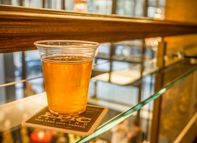 My first drink of the night went down smoothly as I prepared for another. Photo: Talyn Sherer