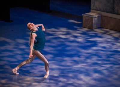 The dancer separates from the bunch to perform on her own. Photo: Talyn Sherer