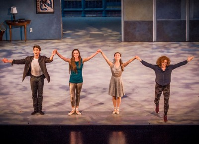 The crowd gives a standing ovation to all those involved in this beautifully performed piece. Photo: Talyn Sherer