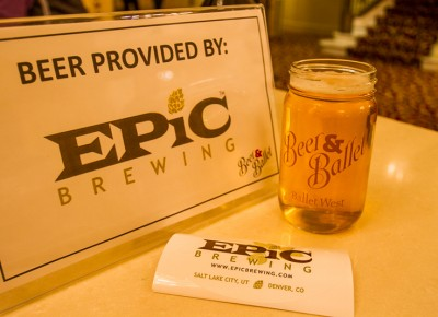 Our tastebuds were just as thrilled to be a part of the event, thanks to Epic Brewing. Photo: Talyn Sherer