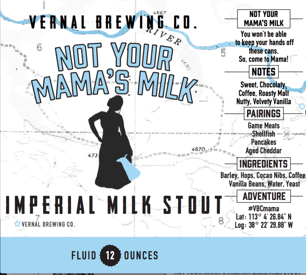 Beer of the Month: Not Your Mama's Milk Imperial Milk Stout