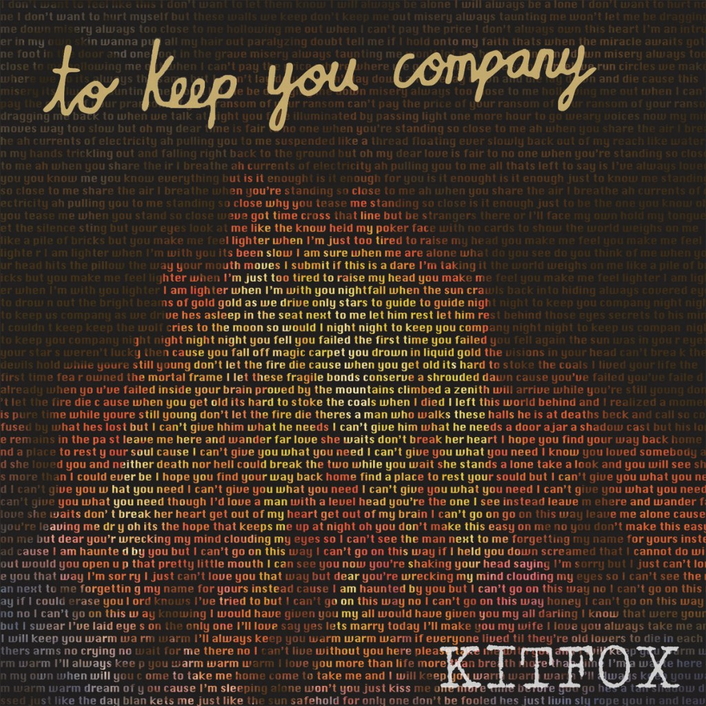 Local Review: Kitfox – To Keep You Company
