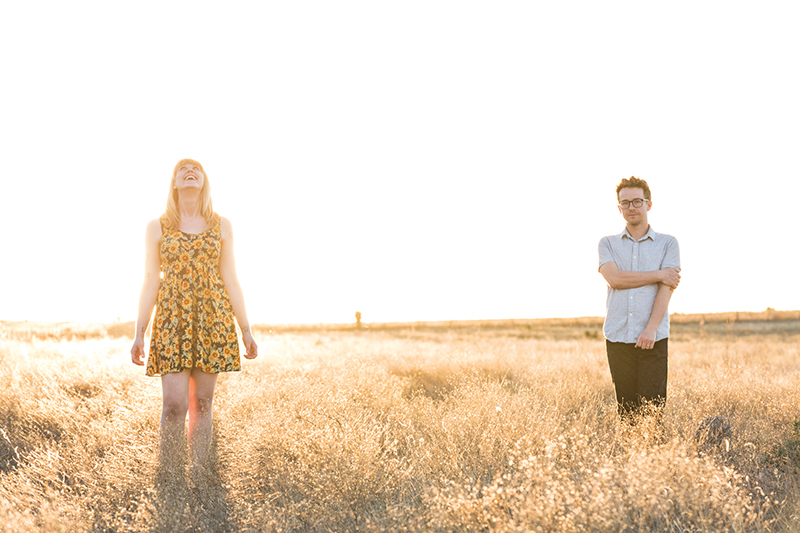 (L–R) Jenn Wasner and Andy Stack have spent over a decade together creating dreamy, experimental rock as Wye Oak.