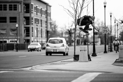 """Hardflip. """"I'm dying to go on a skate trip,"""" says Harris. """"I don't have any plans, but I'm for sure going to make some. I'm down to go anywhere."""""""