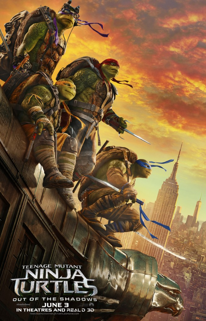 Movie Review: Teenage Mutant Ninja Turtles :Out of the Shadows