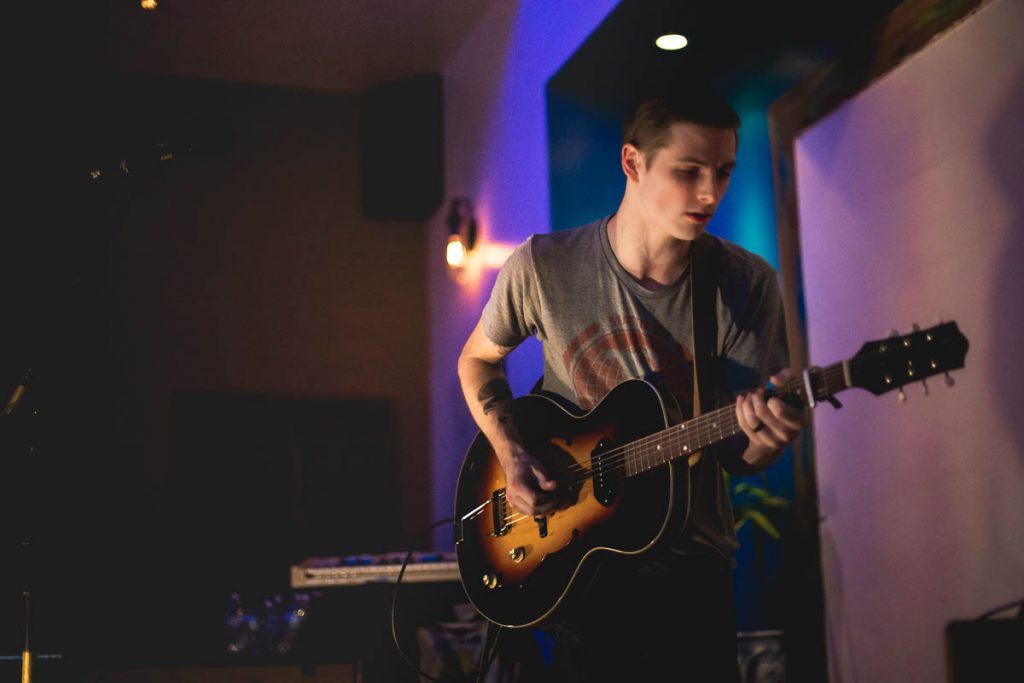 James Junius, Andrew Goldring, Anthony Pena @ The Acoustic Space 07.22