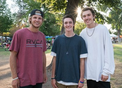 Zac Tueller, Danny Cline and Tyler Leek enjoyed the Twilight Vibes. Photo: JoSavagePhotography.com