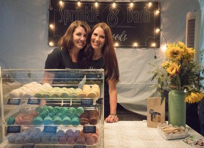 Amanda Anderson and Julie Chapman of Sprinkle and Dash out of North Salt Lake. They cater and make homemade sweets. Photo: JoSavagePhotography.com